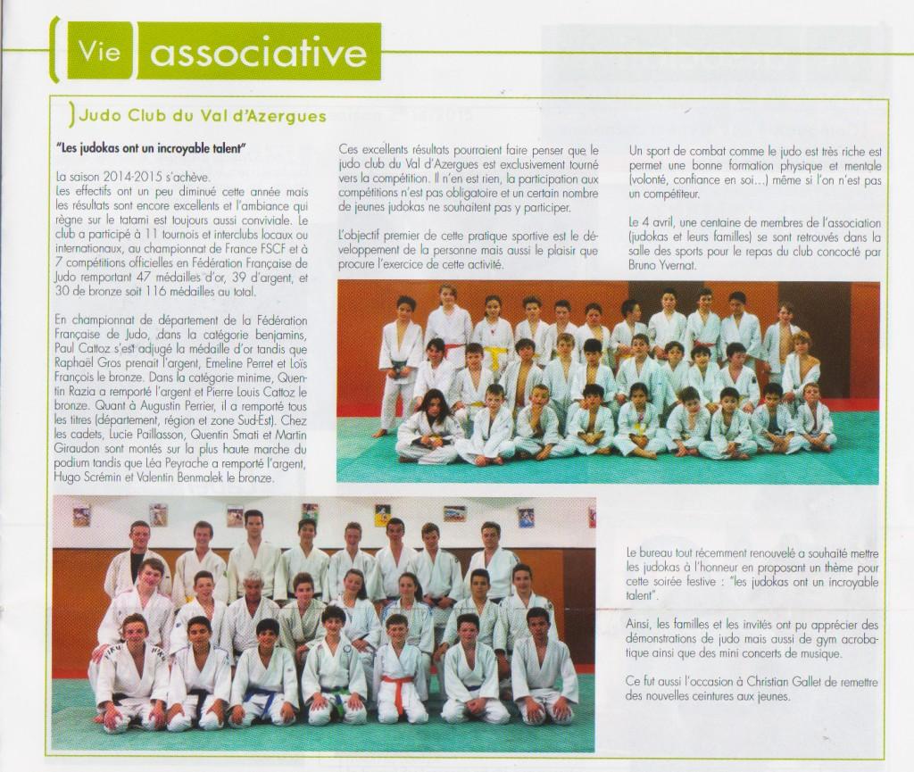 gazette de Lozanne juin 2015 1