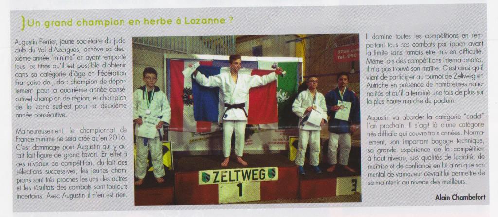gazette de Lozanne juin 2015 2