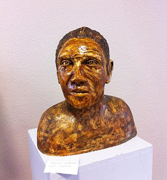 Françoise Boucheron, Sculpture en argile+ patine de <b>Florence Gabert</b> - 14%20340